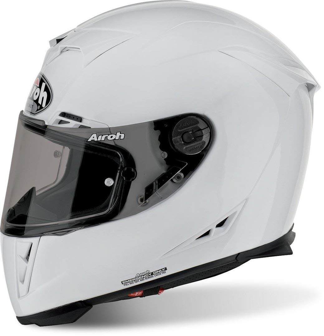 AIROH INTEGRAL HELM Motorradhelm GP 500 COLOR WHITE GLOSS S von Airoh