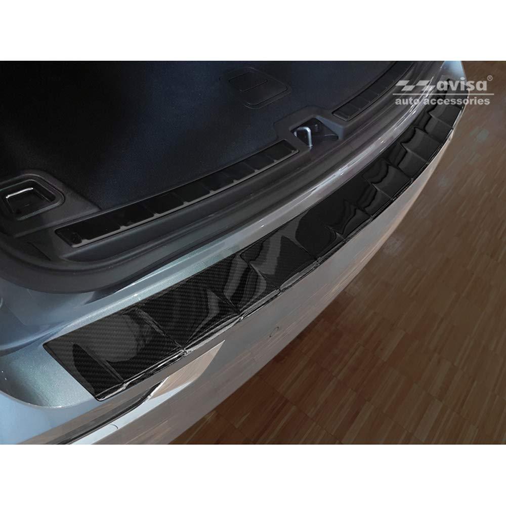 Croni Edelstahl Einstiegleisten kompatibel mit Volvo XC60 II 2017-. Standard SUV 5