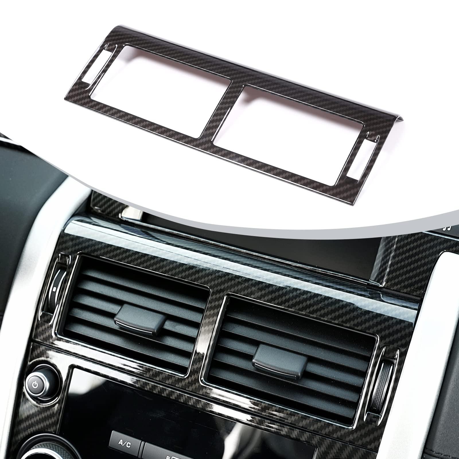 Mattsilber Autozubeh/ör 2 St/ück ABS Zierleisten f/ür die Mittelkonsole A- CLA- GLA- Klasse W117 W176 A180