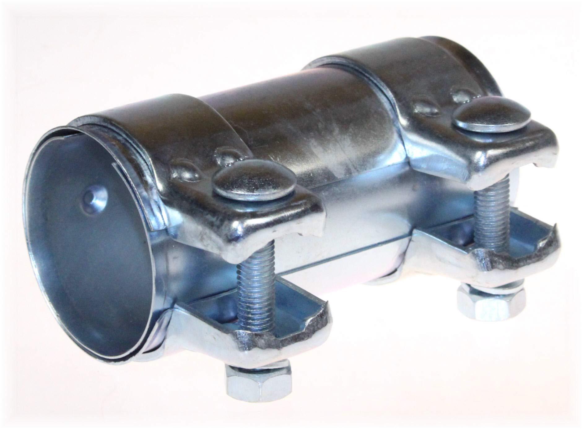 BayWorld Auspuff Universal Rohrverbinder 65x69,5x125mm Doppelschelle 65x125mm