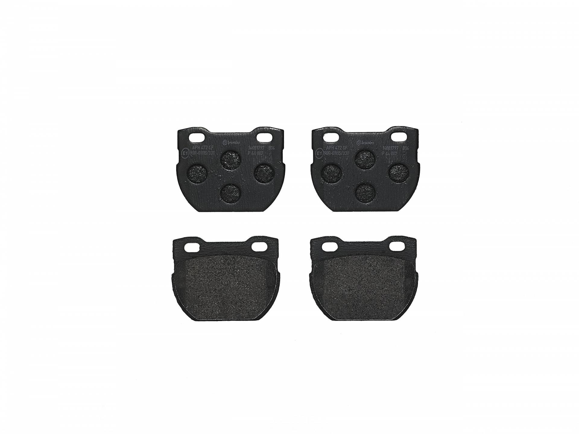 4-teilig Brembo P 85 105 Bremsbelagsatz Scheibenbremse