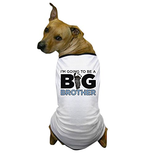 CafePress – im Going to Be a Big Brother – Hund T-Shirt, Haustier Kleidung, Funny Hund Kostüm von CafePress