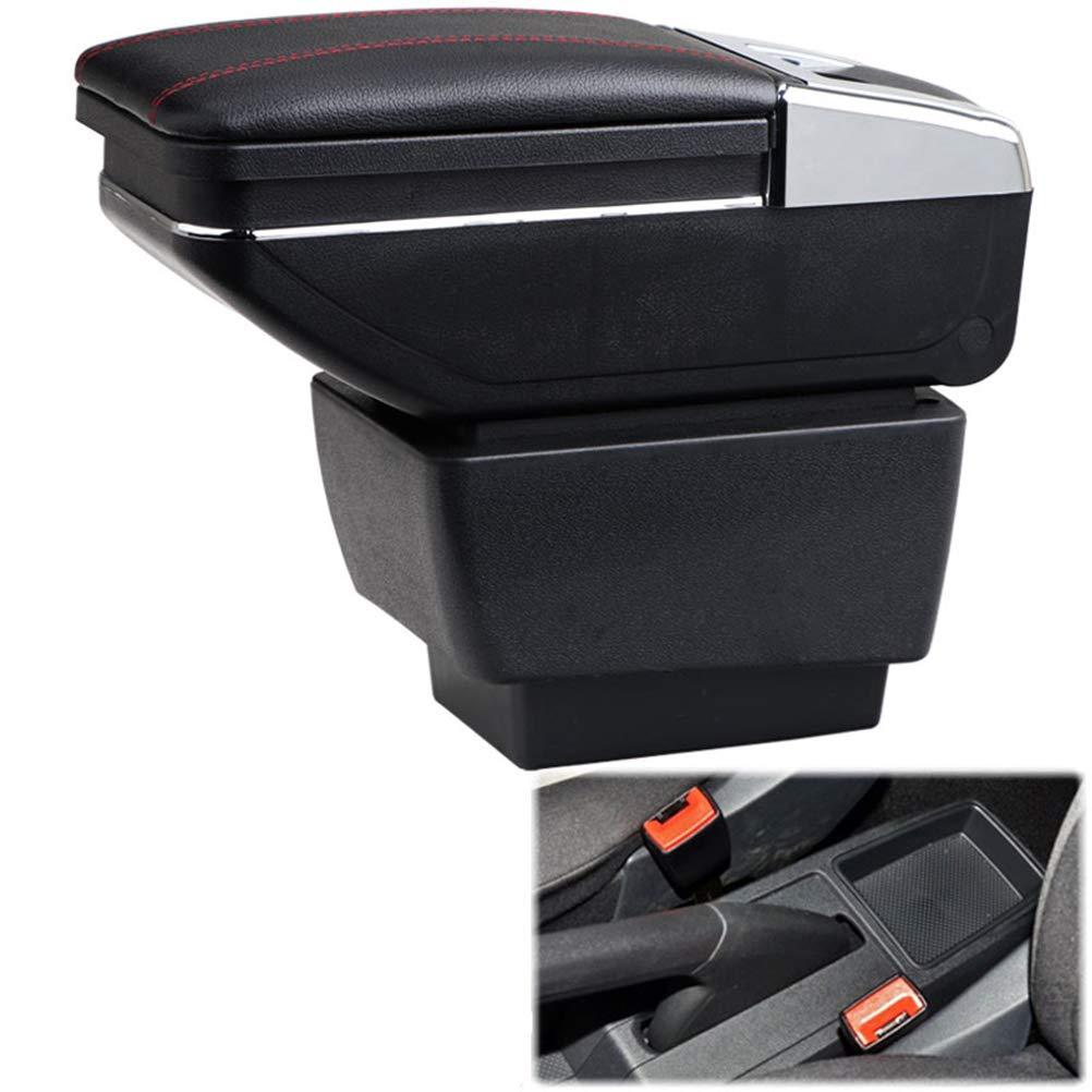 Cobear Auto Mittelarmlehne Mittelkonsole Armlehne Leder Passt f/ür CX-3 2015-2018 mit Aschenbecher /& Getr/änke Halter /& 7 USB-Anschl/üsse Schwarz