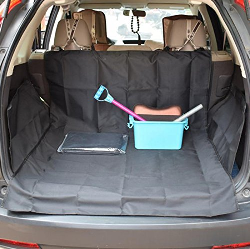 DreamyDesign Universal Car Boot Protection Ideal for Dog Standard Car Dog Bed 155*104*33cm (Schwarz) von DreamyDesign