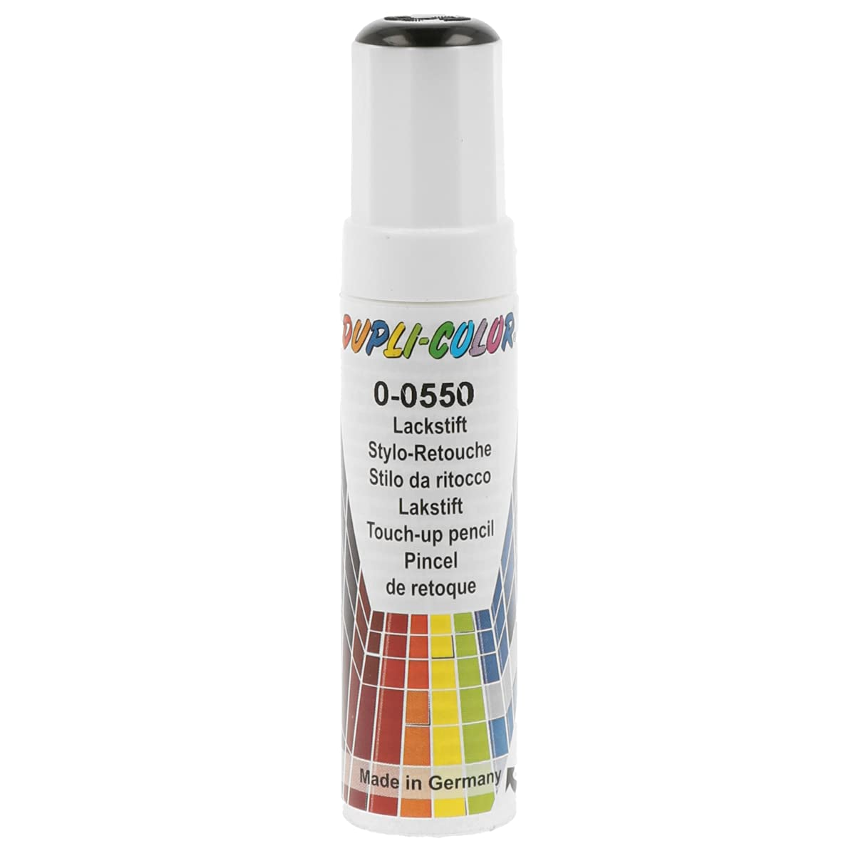 Dupli-Color 598401 Lackstift Auto-Color DS schwarz 0-0550 gl. 12ml, Black von Dupli Color