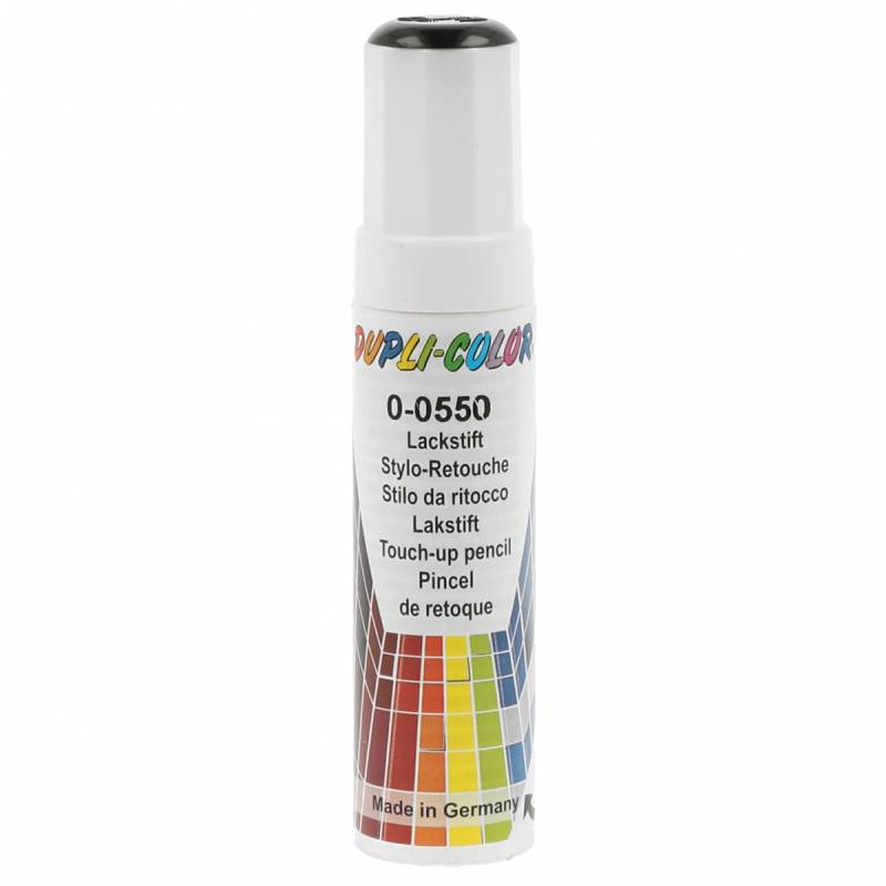 Dupli-Color 598401 Lackstift Auto-Color DS schwarz 0-0550 gl. 12ml, Black von Dupli-Color