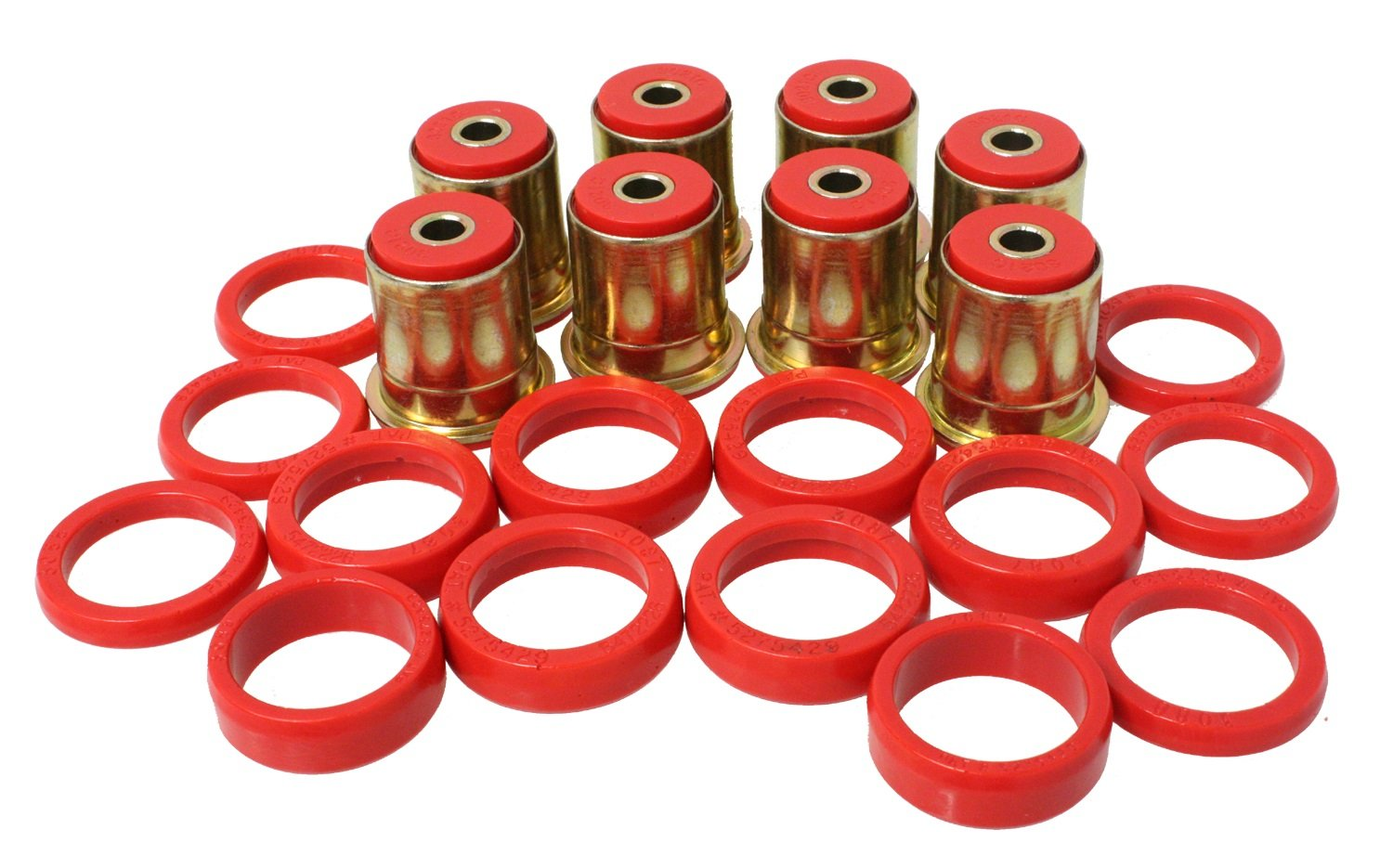 Energy Suspension ENE-3.3132R Lenkerkabelbuchsen-Set von Energy Suspension
