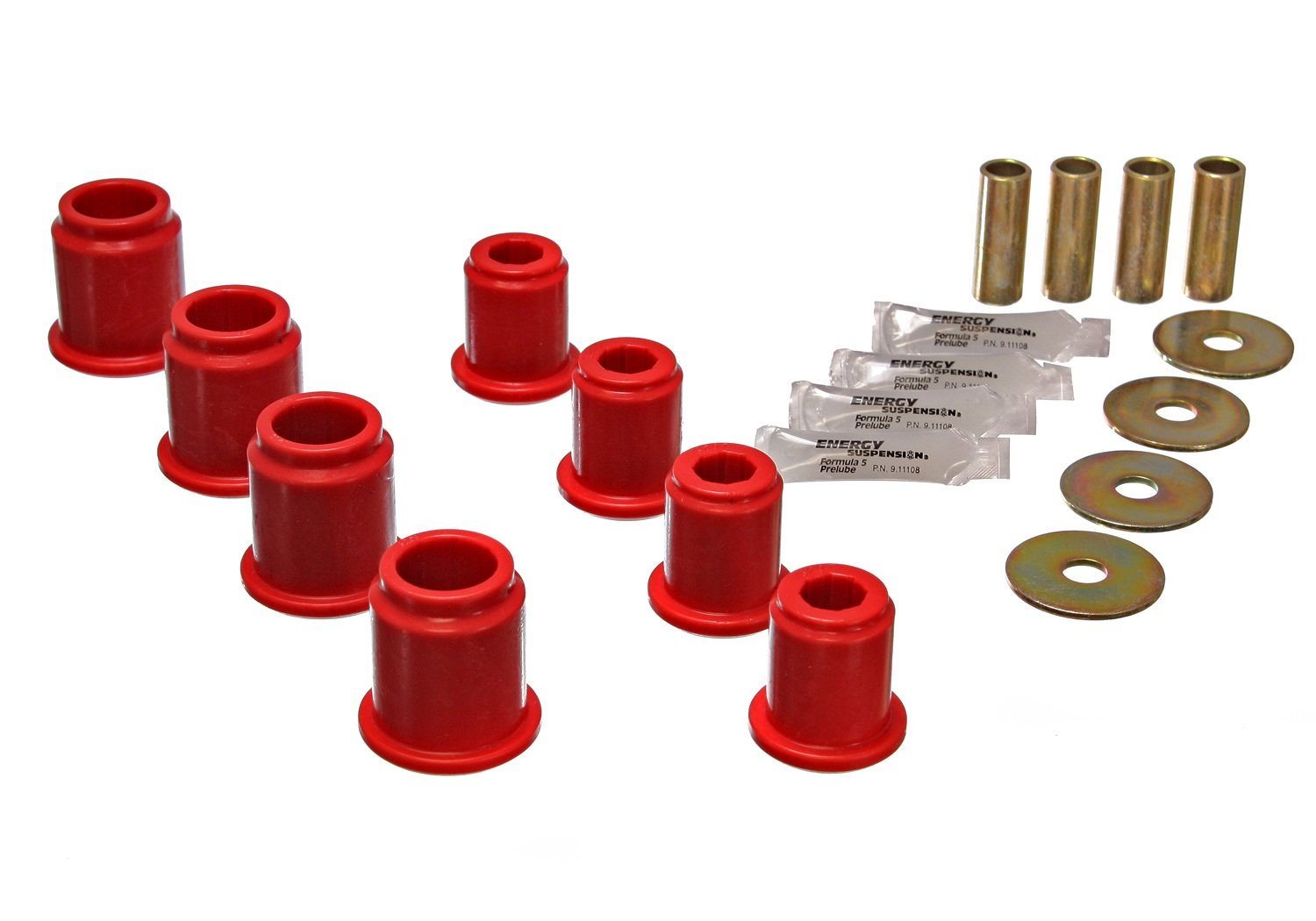 Energy Suspension ENE-8.3115R Lenkerkabelbuchsen-Set, rot von Energy Suspension