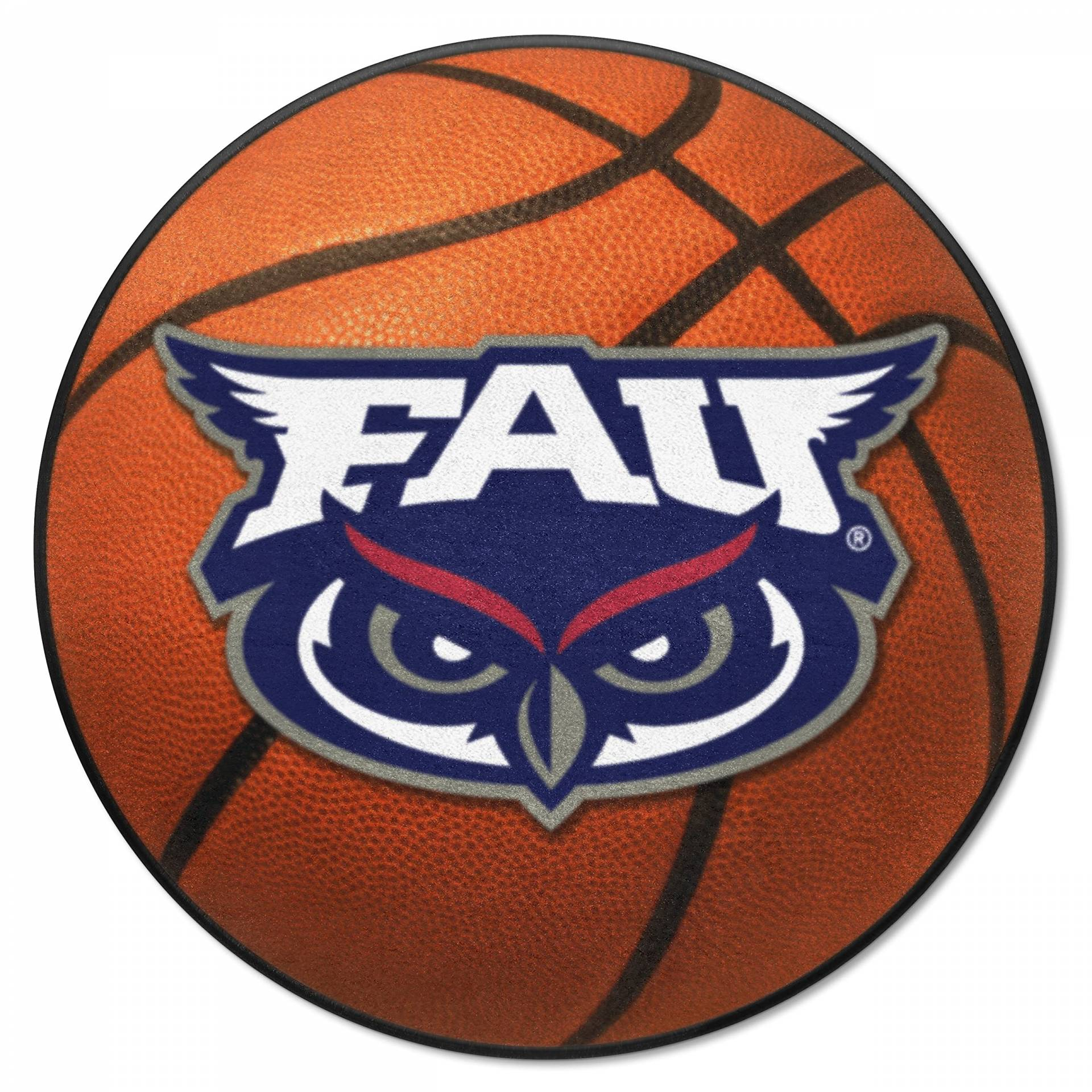 FANMATS NCAA Florida Atlantic University Eulen Nylon Gesicht Basketball Teppich von FANMATS