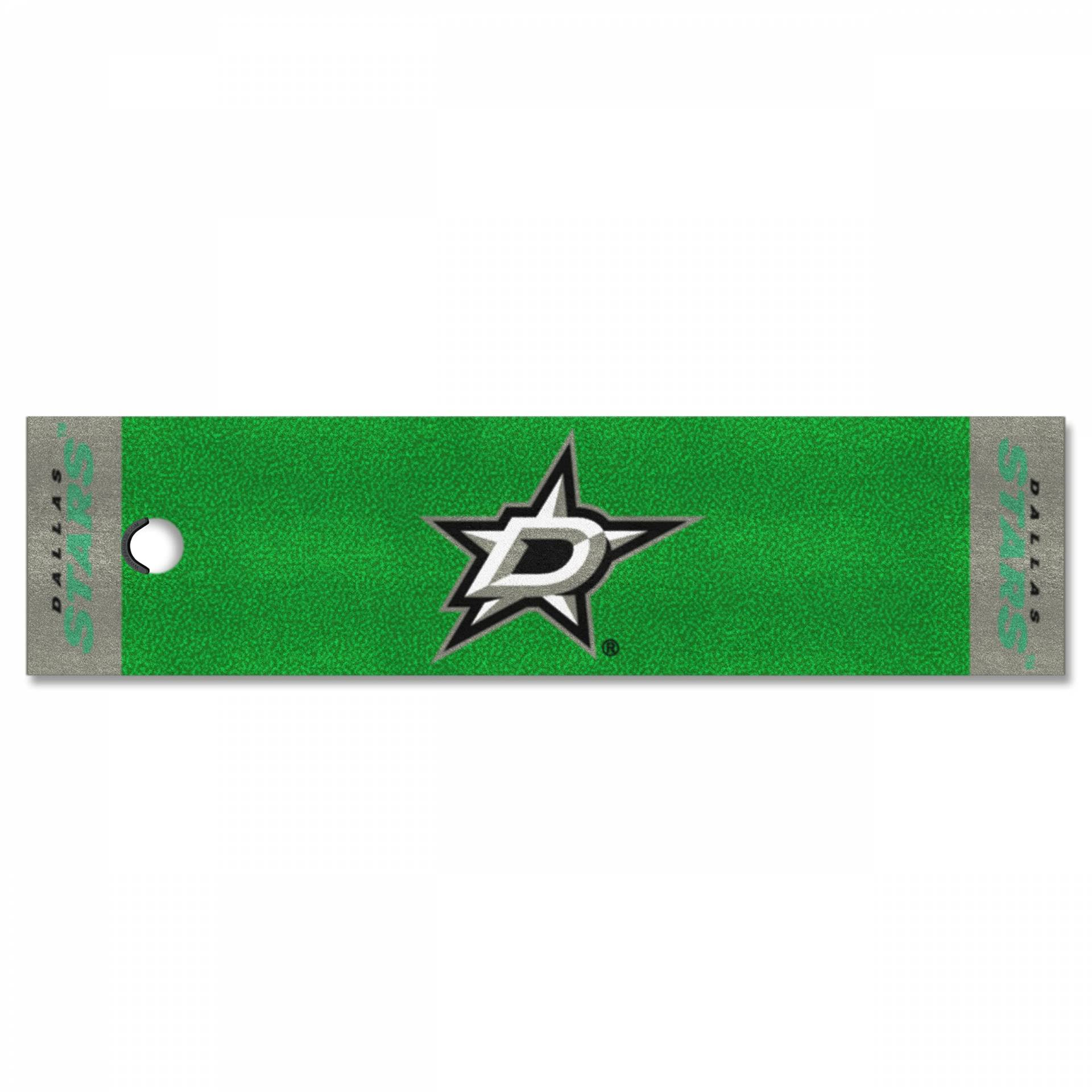 FANMATS NHL Dallas Stars Nylon Face Putting Green Matte von FANMATS