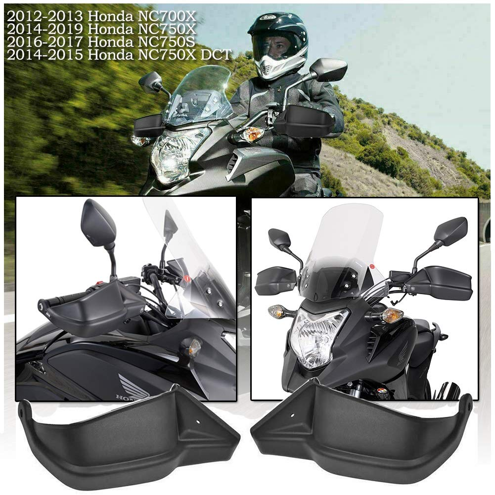 FATExpress Motorrad Kunststoff schwarz Handschutz Lenker Handschutz f/ür BMW G310R G 310 R Kawasaki Versys 650 1000 LT Z900 2010 2012 2014 2016 2018