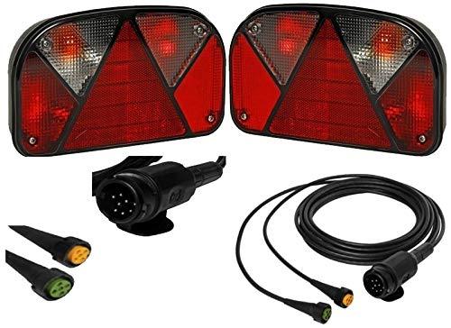 72W-D Leetop 2X 72W 36W 120W 180W LED Arbeitsscheinwerfer Off-Road Scheinwerfer Bar Fernlicht 12V-24V Reflektor Lampen IP67 Wasserdicht Zusatzscheinwerfer Flutlicht f/ür Auto Jeep Traktor SUV