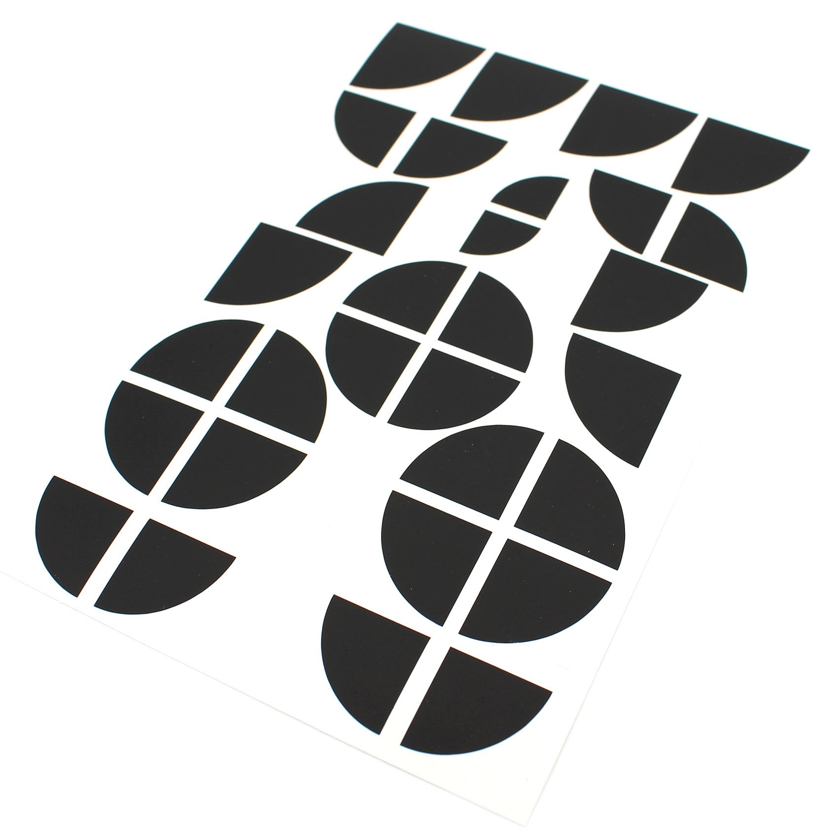 K105 .Schwarz Matt Finest-Folia Leon Schrifzug Folie f/ür Emblem Aufkleber