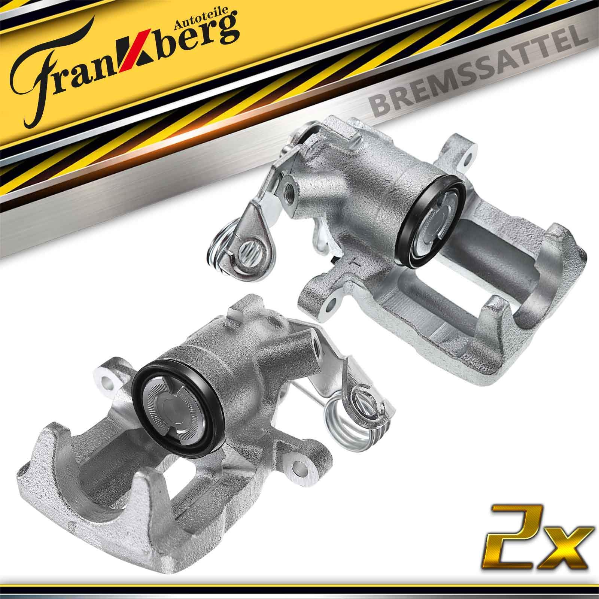 2x Bremssattel Hinten Links Rechts f/ür Grand Cherokee I ZJ ZG 2.5L 4.0L 5.2L 1994-1998 18-4398