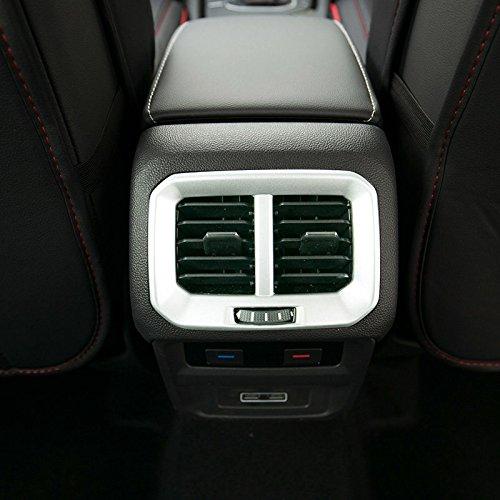 ABS Innen Kunststoff matt Seite Klimaanlage Vent Outlet Cover Trim Rahmen 2 F/ür Koleos 2017 2018 2019