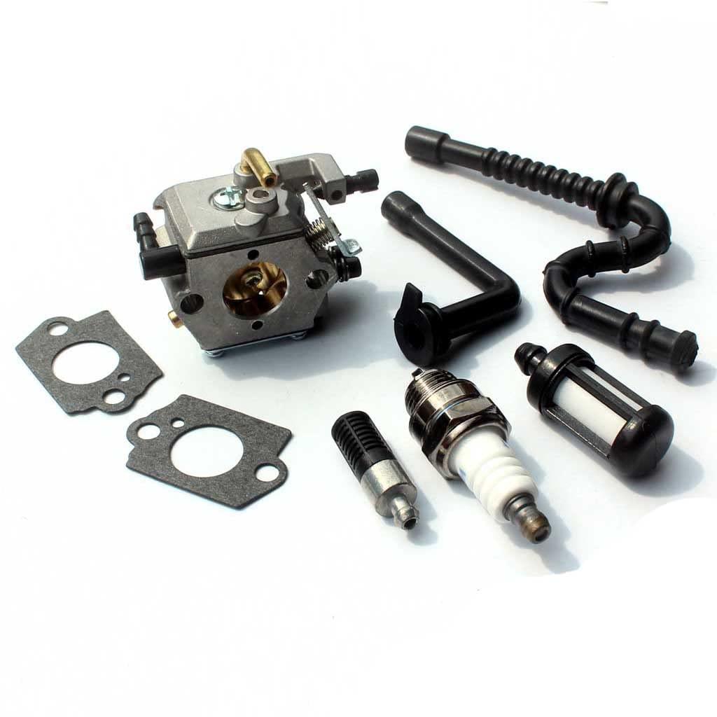 Vergaser Kit Ölkreislauf Kraftstofffilter Lufteinlass Für STIHL MS170 MS180