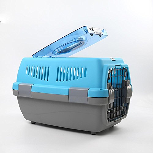 Pet Air Carrier Hund Car Carrier Carriage Käfig Teddy Katze heraus einfach Reisen Case , medium , d von HongXJ