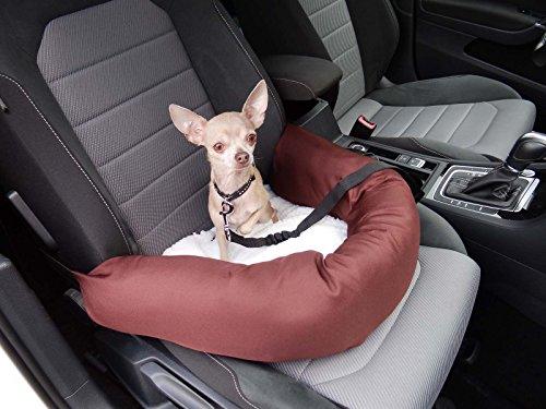 Katze oder Haustier inklusiv Flexgurt empfohlen f/ür Mercedes-Benz CLA Shooting Brake Hossis Wholesale Knuffliger Leder-Look Autositz f/ür Hund