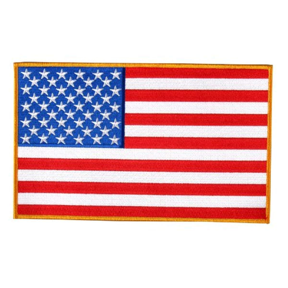 Hot Leathers PPA1222 Amerikanische Flagge Patch (12,7 cm breit x 7,6 cm hoch), rot von Hot Leathers