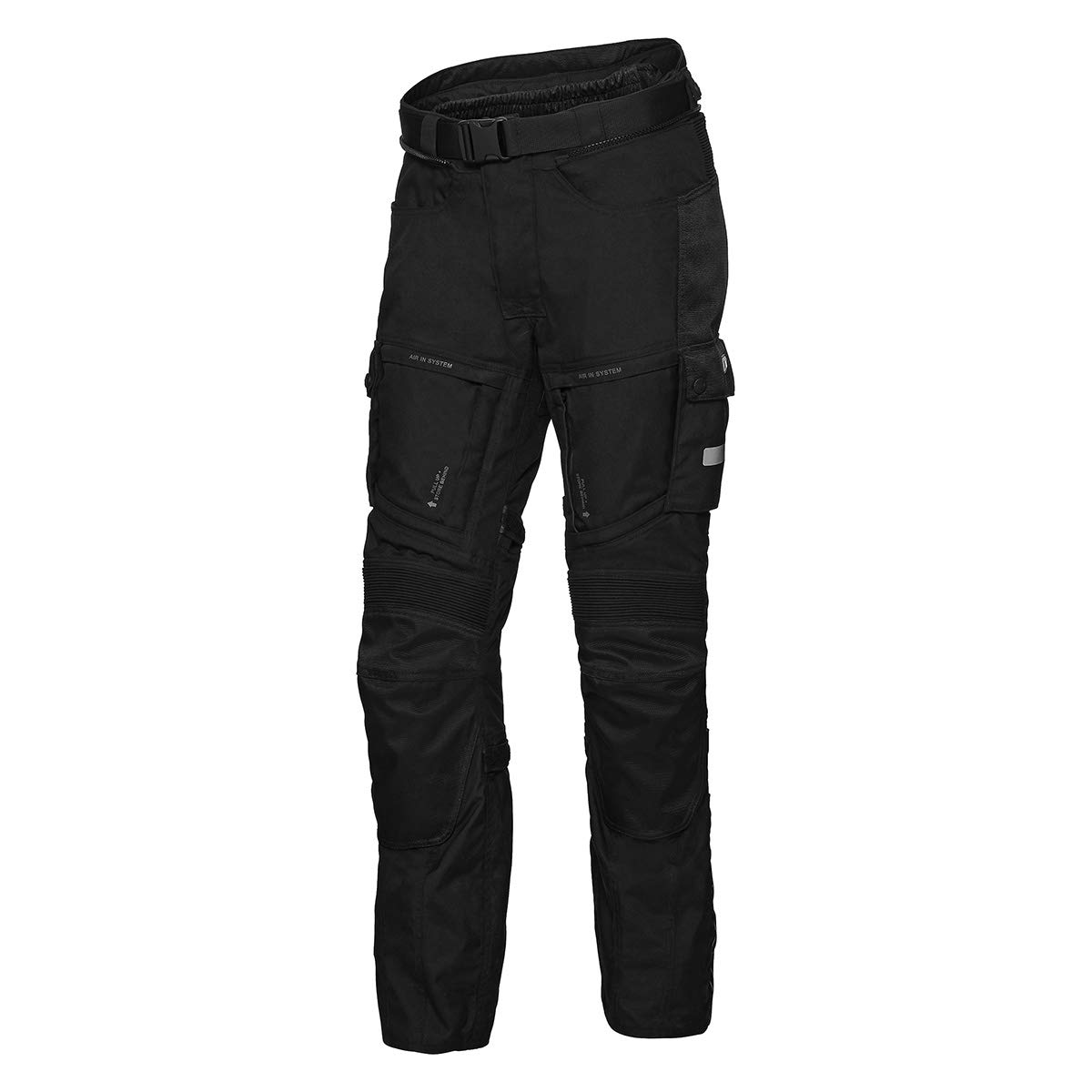 IXS Tour Lt Trousers Montevideo-St Black M von IXS
