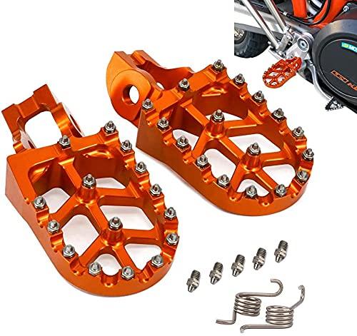 JFGRACING Front Foot Pegs Rest Pedal For Kawasaki ZRX400 ZRX1100 ZRX1200 Z1000 Z750 EX250 Ninja 250R ZZR1100 ZX9R 93-13