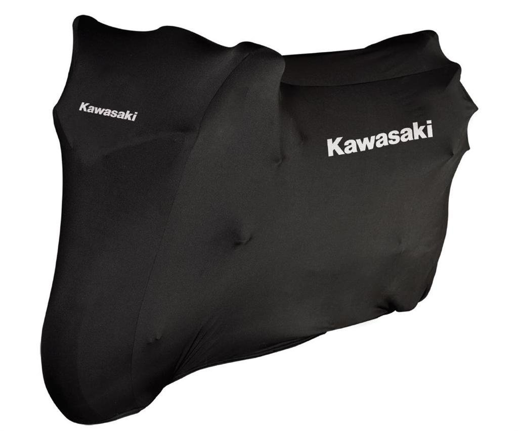 Kawasaki HQ Indoor Stretch Bike Cover Abdeckplane innen Gr.M von Kawasaki