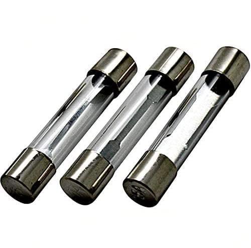 10x Sicherung Glas Glassicherung Feinsicherung 5x20mm T bis 250V 10A träg träge