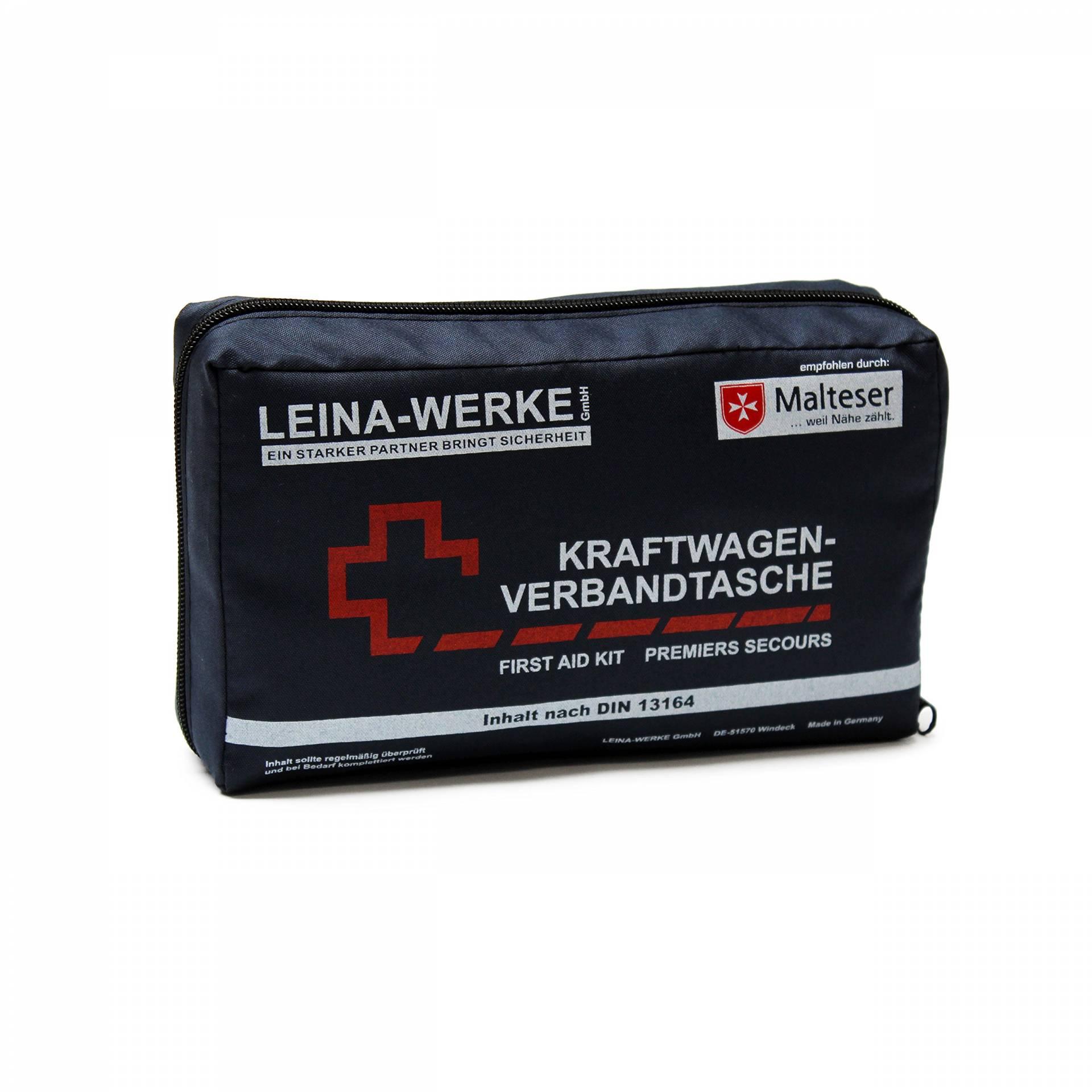 Blau//Wei/ß XS Leina-Werke 14017 Mini-Kombitasche M2 ohne Klett