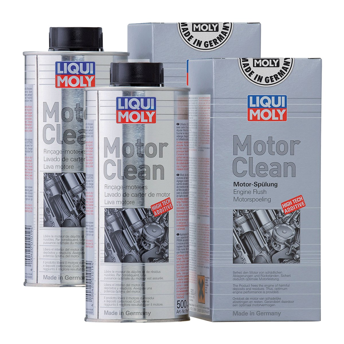 2x LIQUI MOLY 1019 Motor Clean Motorreinigung Additiv 500ml von LIQUI-MOLY_bundle