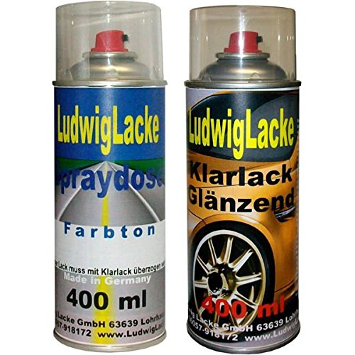 Spray Set Toyota Quick Silver Metallic K98 Bj.98-04 von Ludwig Lacke