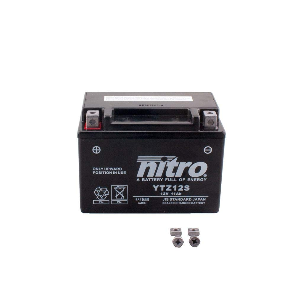 YTC5L-BS Batterie 12V 5AH YTX5L-BS Gel Nitro 50412 Lead 100 JF11 04-07