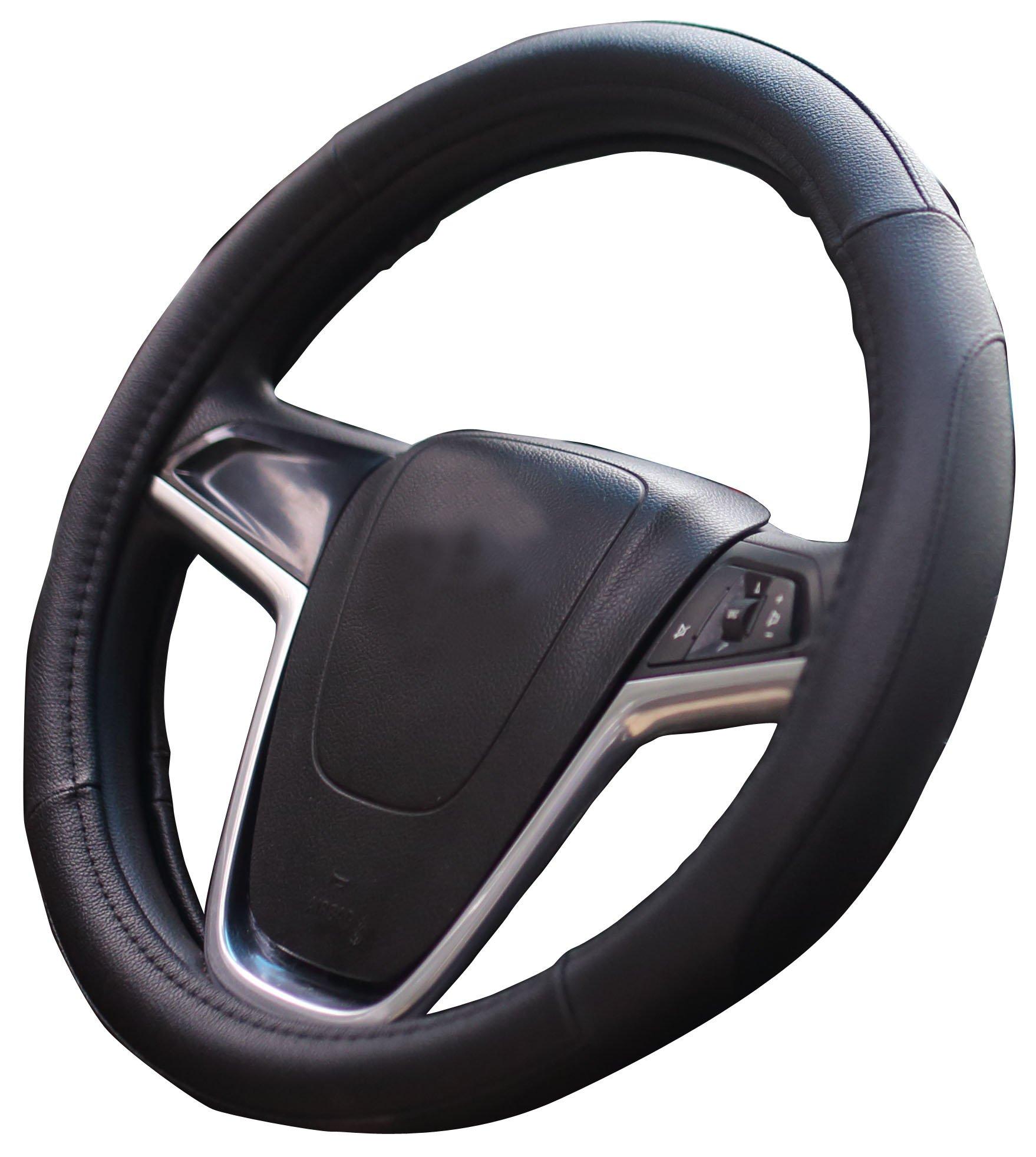 2018 Auto Lenkradabdeckung Komfort Haltbarkeit Sicherheit Fall Schwarz Rot
