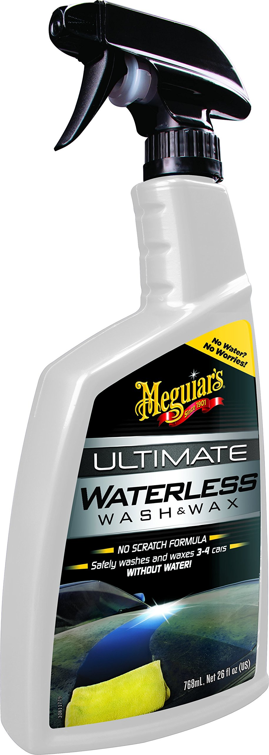 Meguiar's G3626EU Ultimate Waterless Wash & Wax Trockenwäsche, 768ml von Meguiar's