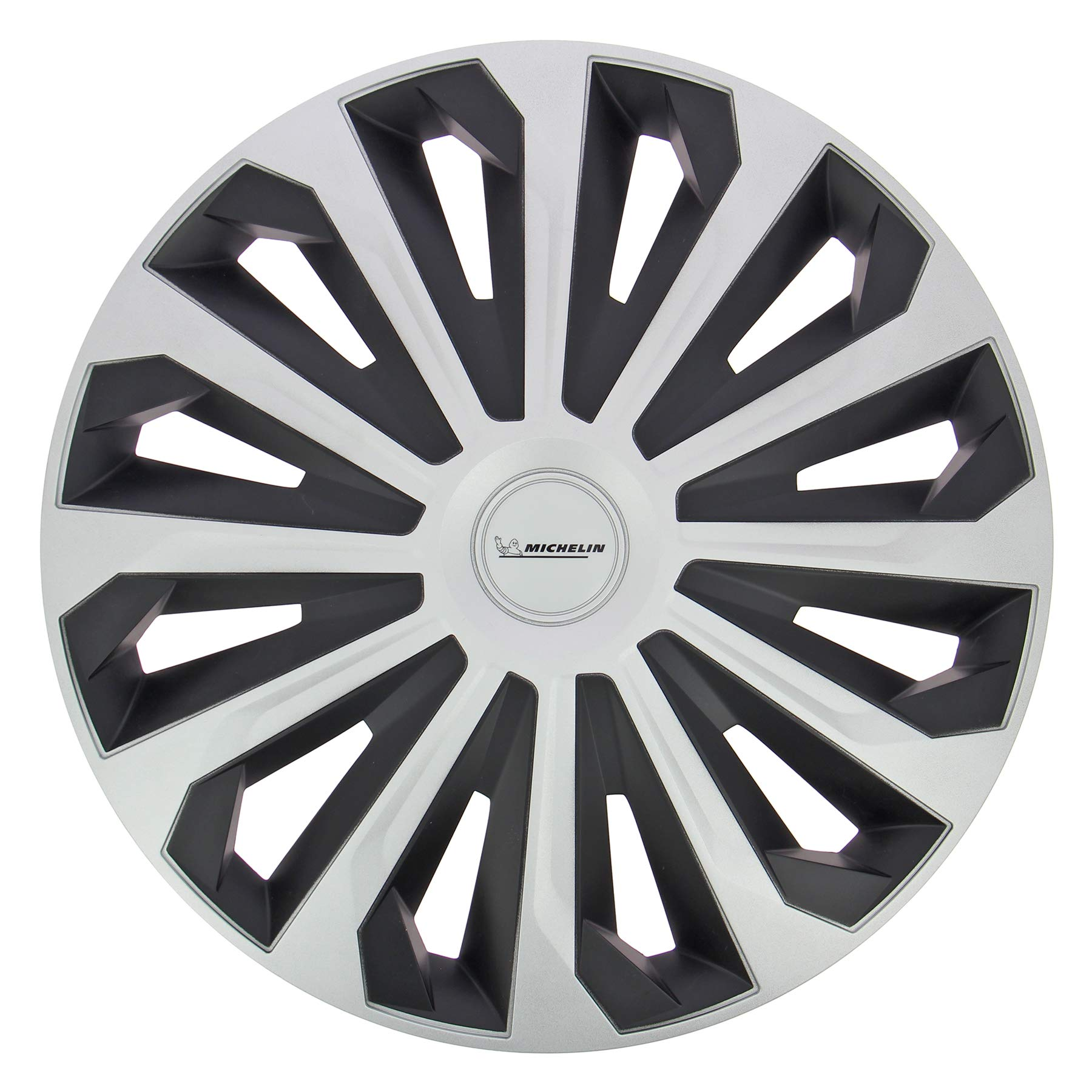 14 Zoll. 4 x Universal Radzierblenden//Radkappen Michelin Fabienne Schwarz