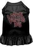 Mirage Pet Products 57–56 XLBK schwarz Happy Valentinstag Strass Kleid, X-Large von Mirage Pet Products