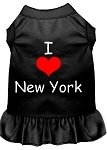 Mirage Pet Products 58–07 XLBK schwarz I Heart New York Screen Print Kleid, X-Large von Mirage Pet Products