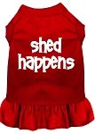 Mirage Pet Products 58–16 XXLRD Shed Happens Screen Print Kleid, XXL, rot von Mirage Pet Products