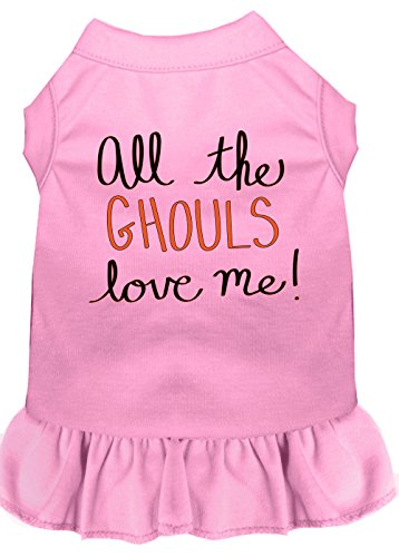 Mirage Pet Products 58–62 lpklg alle Display Der Ghouls Print Dog Kleid, groß, Light Pink von Mirage Pet Products