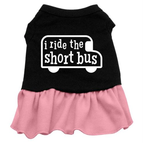 Mirage Pet Products I Ride the kurz Bus Display Print Kleid von Mirage Pet Products