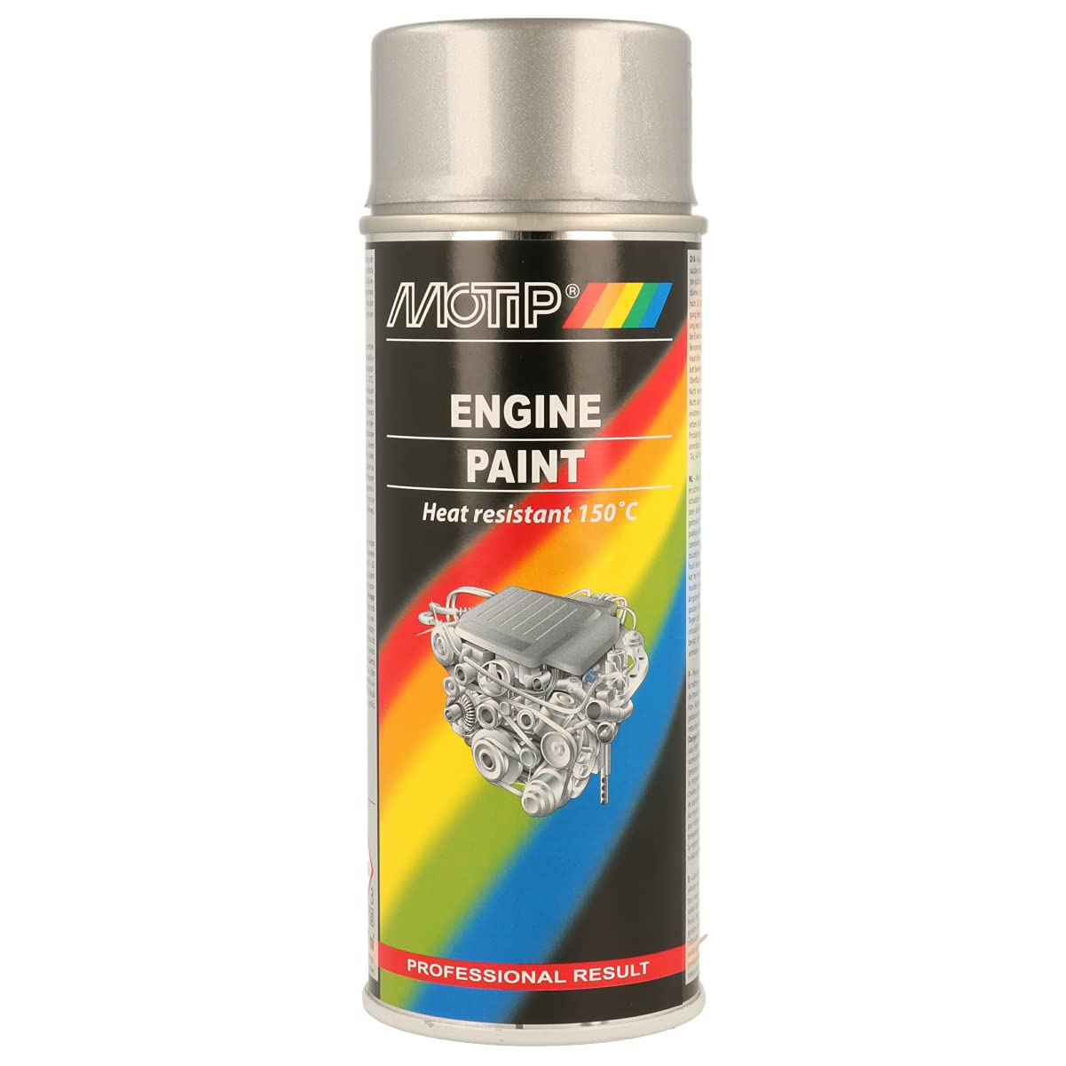 MOTIP M04093 Motorfarbe Tun. Engine alumini. Spray 400 ml von Motip