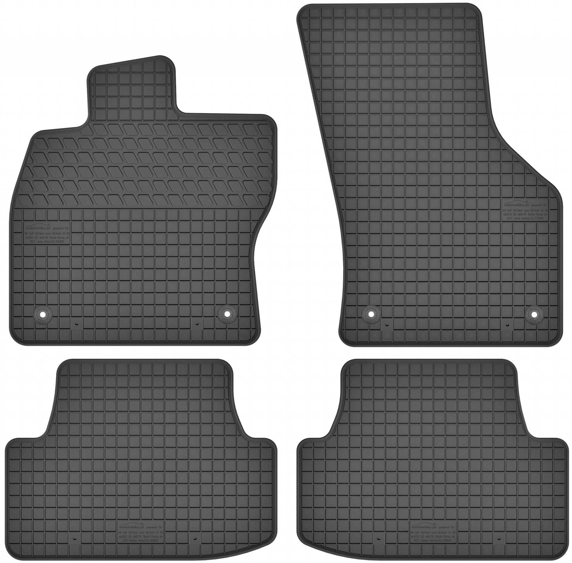 Velours Fußmatten Set für DACIA LODGY 6//12-4teilig Matten Autoteppiche
