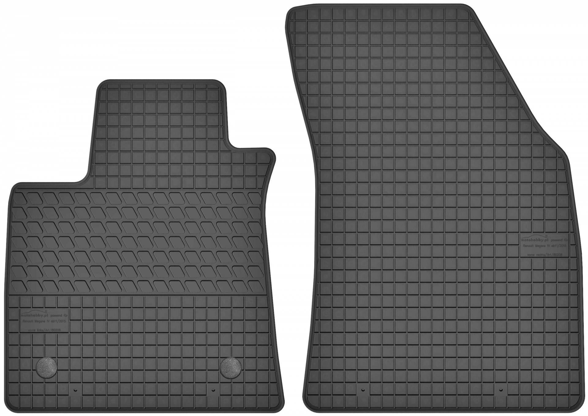 passgenau Fußmatten TOP Qualität MITSUBISHI L200 ab 2015 Gummifußmatten