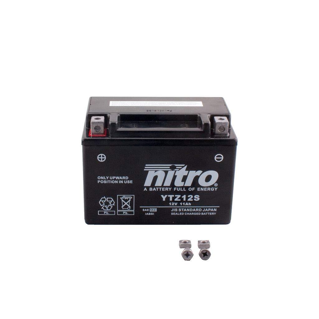 S 1000 RR 2009-2014 S 1000 R 2013-2016 Steco Power Wartungsfreie Batterie YTZ12S-BS 11Ah B-M-W G 650 Xmoto 2007-2010