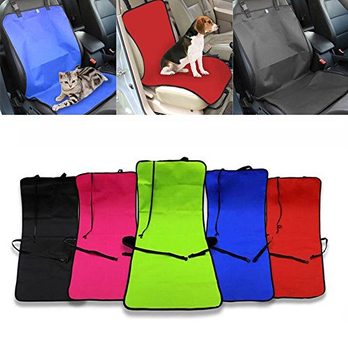 Pet Autositz Mat Single Rear Sitz Falt wasserdicht Oxford Stoff-Schalenabdeckung Hund Katze Kissen eng Automarke CO – Pilot Auto Sitz Carrier Pad gut für Reise von Myfei