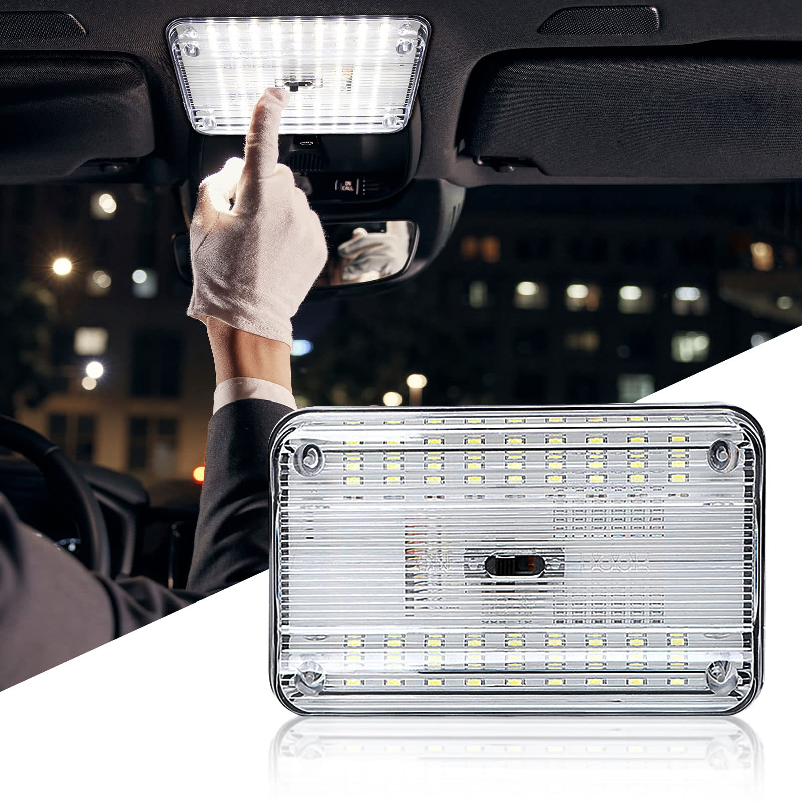 OurLeeme 360/Grad 16/Band KFZ-Bewegungsmelder Anti Radar f/ür Voice Alert V7-Geschwindigkeit des Fahrzeug Warnung LED-Anzeige