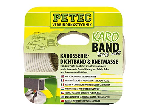 PETEC BUTHYL DICHTBAND 20 MM X 3 M, WEISS, SB- 87530 von Petec