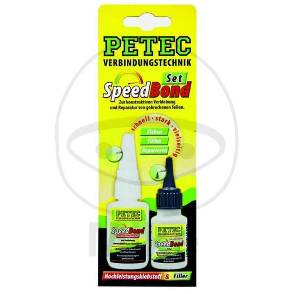 Petec 93550 Speedbond-Set, Hochleistungs von Petec