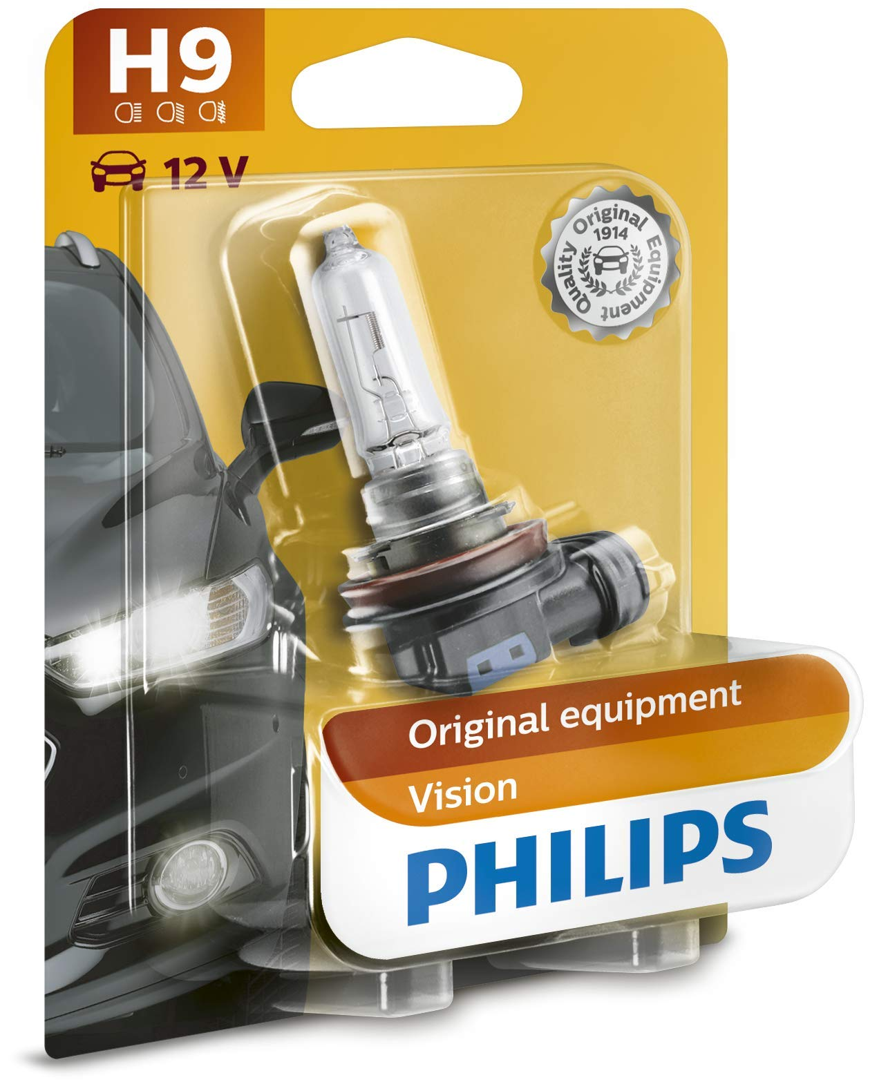 Philips 12361B1 Vision H9 Scheinwerferlampe, 1-er Blister von Philips automotive lighting