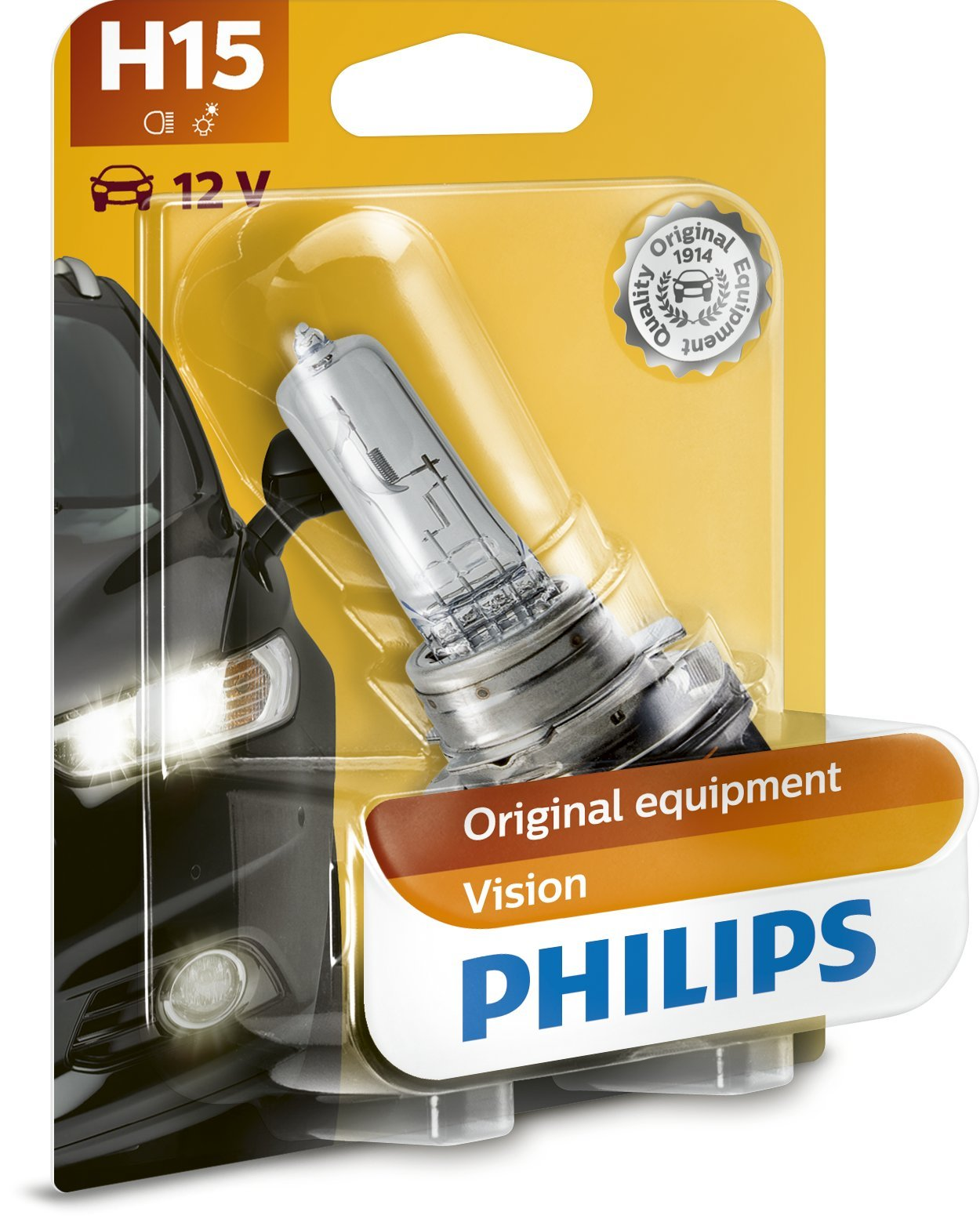 Philips 12580B1 H15 Halogen-Scheinwerferlampe von Philips automotive lighting