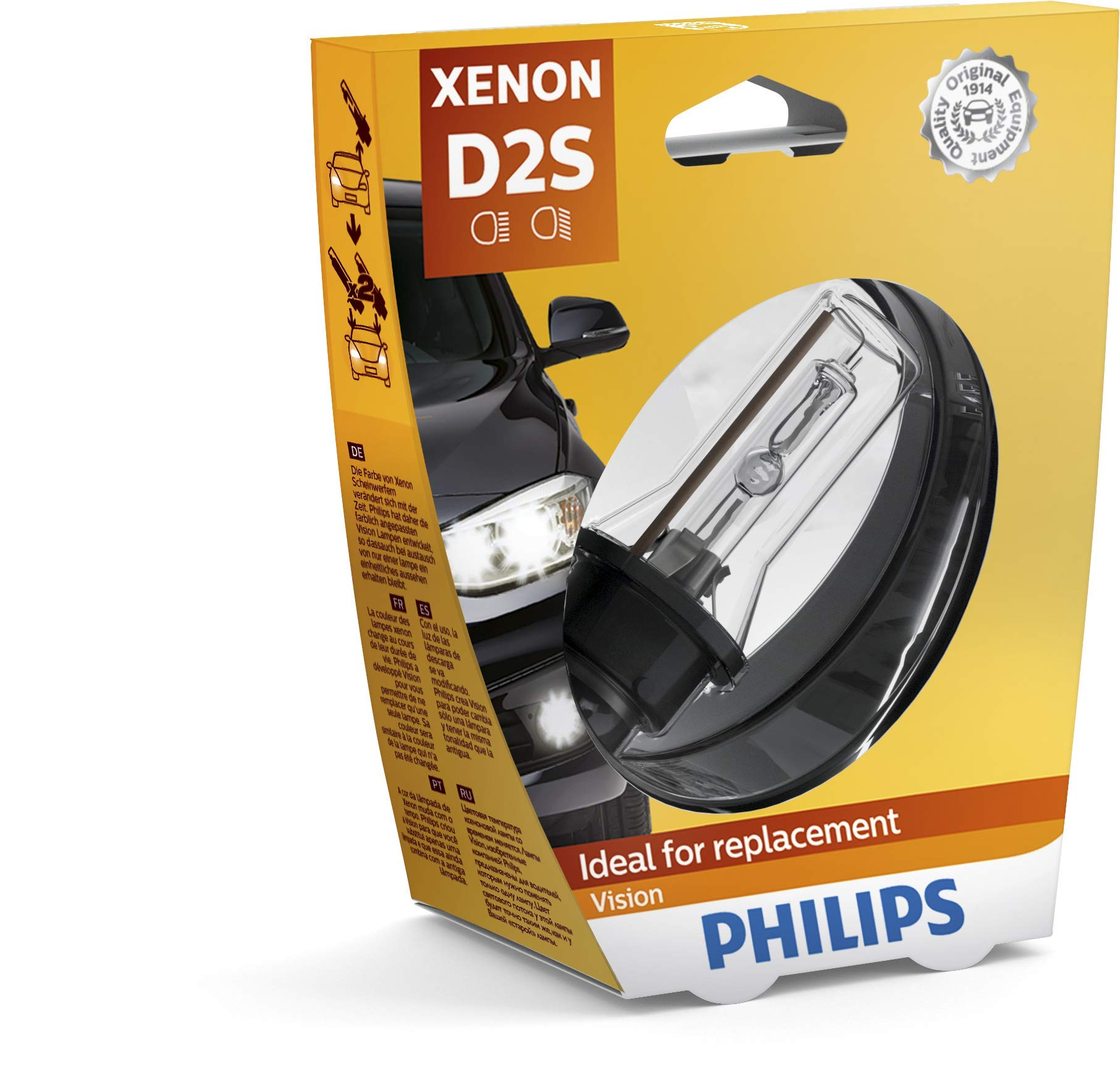 Philips 85122VIS1 Xenon Vision D2S, 1-er Blister von Philips automotive lighting